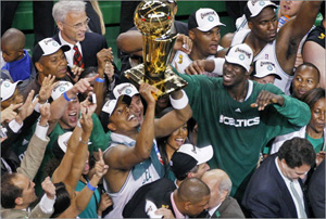 The Boston Celtics Win the 2008 NBA Championship